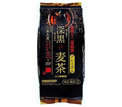 麦茶・健康茶特集:伊勢惣 リニューアルで販路拡大「深黒麦茶」