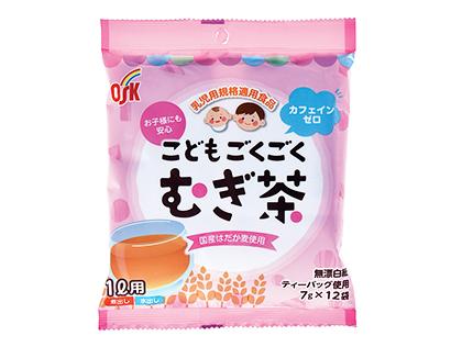麦茶・健康茶特集:小谷穀粉 乳児用規格適用食品「こどもごくごくむぎ茶」
