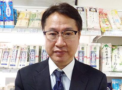 全国麺類特集:東京主要問屋=下田商事 そうめん産地商品の充実