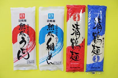 全国麺類特集:東北地区=佐藤製麺 福島で高シェア誇る清鶴麺