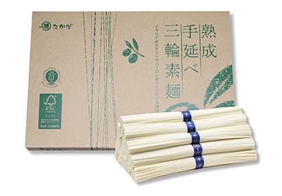 熟成手延べ三輪素麺 エコパッケージ