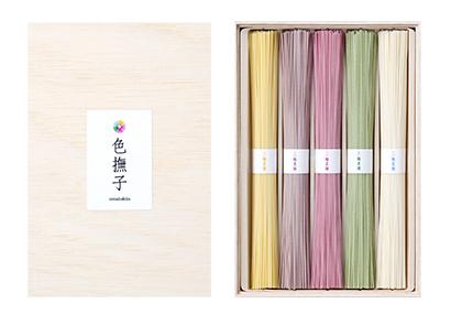 全国麺類特集:奈良・三輪地区手延べ麺=池利 「色撫子」好調