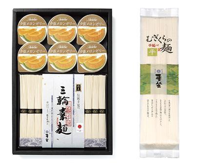 全国麺類特集:奈良・三輪地区手延べ麺=巽製粉 アソート商品が伸長