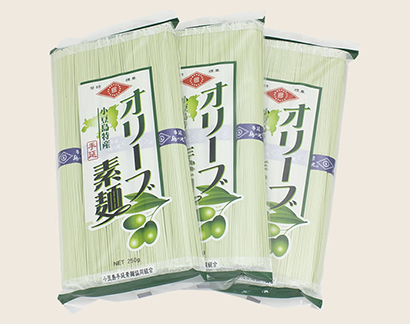 全国麺類特集:小豆島地区手延べ麺動向=手延オリーブ素麺に注力