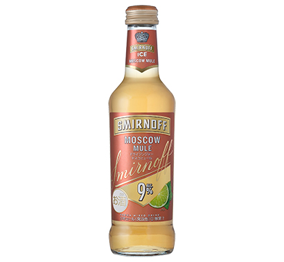 キリンビール、「スミノフアイス モスコミュール」発売 日本独自フレーバーを