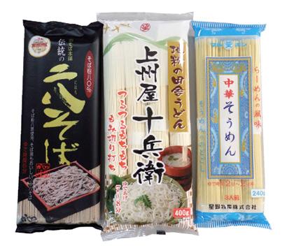 河野氏が注目する乾麺商品