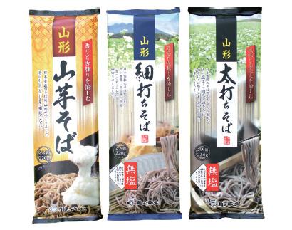全国麺類特集:東北地区=城北麺工 そばの山形の代表羽黒そば