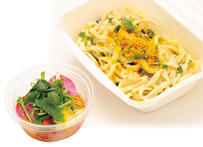 Principio「パスタ&野菜料理のセット」1,800円(税抜き)