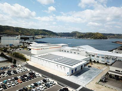 宮島醤油・妙見工場、第4工場が竣工