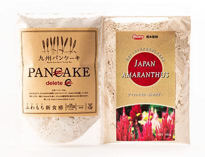 熊本製粉、アマランサスを活用 「九州パンケーキ」原料に