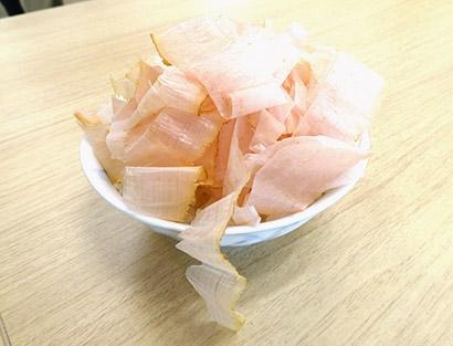 ◆花かつお・削り節特集:500億円市場を維持 料理用途の拡大目指す