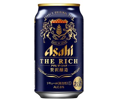 ヒットの兆し:アサヒビール「アサヒ ザ・リッチ」 値頃価格でぜいたく感