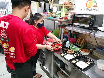 海外日本食 成功の分水嶺(101)宅配弁当店「まんぷく弁当道場もぐもぐ」〈上…