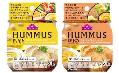 イオン、マーガリン・バター代用「フムス」PB化 ヒヨコ豆使用のヘルシー食品