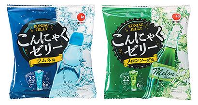 コンニャクゼリー特集:アイエー・フーズ 炭酸飲料テイスト20~30%増見込む