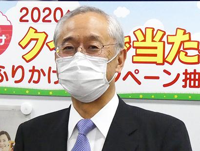 フォーカスin:丸美屋食品工業・阿部豊太郎社長 21期連続増収へ勢い増す