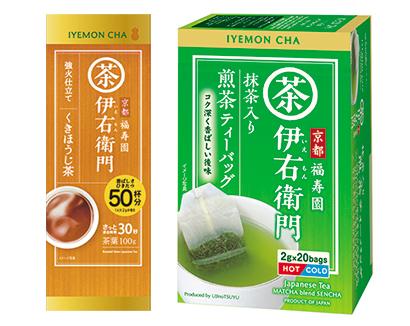 緑茶特集:宇治の露製茶 「伊右衛門」2品発売