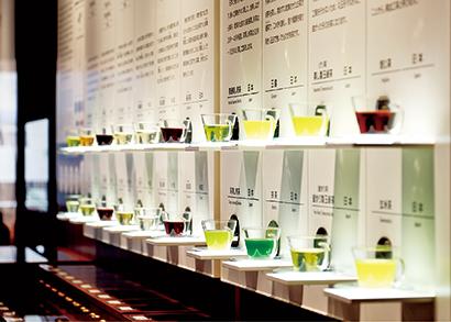 世界のお茶(博物館3階)