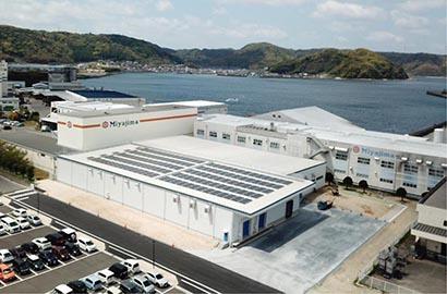 九州食品産業特集:宮島醤油 妙見第4工場竣工