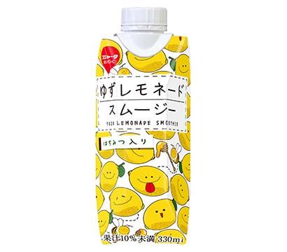 静岡流通特集:商品紹介=スジャータめいらく「ゆずレモネードスムージー」