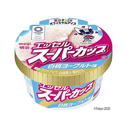 「明治 エッセルスーパーカップ 白桃ヨーグルト味」発売(明治)