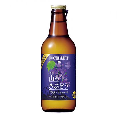 「寶CRAFT 岩手 山のきぶどう」発売(宝酒造)