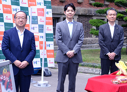 セコマ・カゴメ・北海道、「野菜を食べよう!」キャンペーン10年目記念行事開催