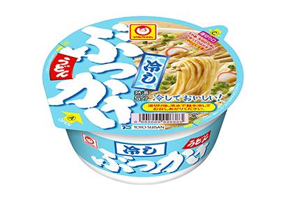 """即席麺特集:東洋水産 """"冷し""""で底上げを 「緑のたぬき天そば」40周年迎える"""