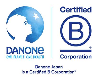 B Corp認証ロゴ(右)