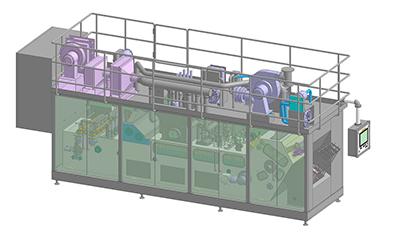清涼飲料特集:業界支える機械・資材・素材=四国化工機 無菌充填「NSATOM…