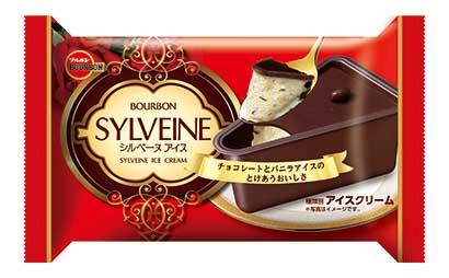 ヒットの兆し:ブルボン「シルベーヌアイス」 三角カップでケーキ再現