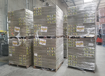 米国日清、新型コロナ拡大で即席麺を無償提供