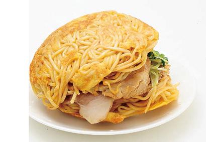 麺屋Hulu-lu「ラーメンバーガー(スープ付き)」