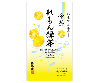 福寿園、「冷茶れもん緑茶」発売 かぶせ茶を使用