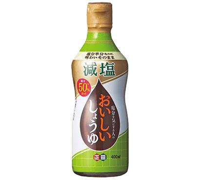 おいしい減塩食品特集:正田醤油 減塩醤油の先駆け NB改良・技術に磨き