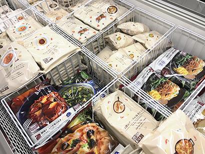 巣ごもり需要で伸長するローソンの冷凍食品