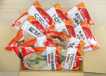 介護食品特集:名阪食品 「そふまる」販売増加 一番人気は「もち」