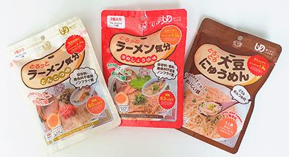 介護食品特集:田靡製麺「とろっとろ大豆にゅうめん」
