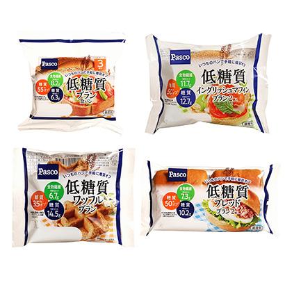 「低糖質 ブラン食パン」発売(敷島製パン)