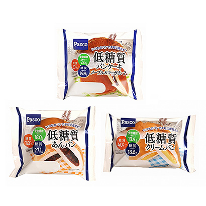 「低糖質 パンケーキ メープル&マーガリン」発売(敷島製パン)