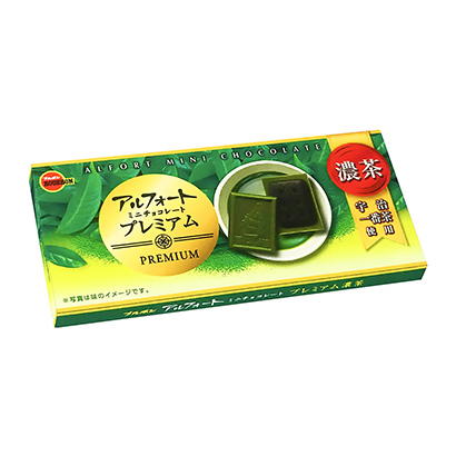 「アルフォートミニチョコレート プレミアム濃茶」発売(ブルボン)