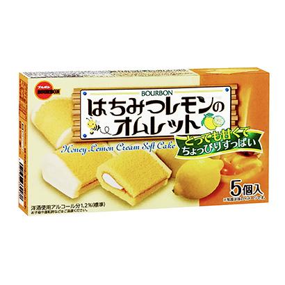 「はちみつレモンの オムレット」発売(ブルボン)