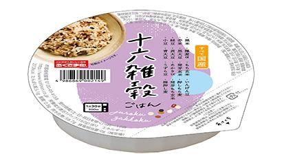 高機能性米特集:幸南食糧 健康テーマにパックご飯4品投入