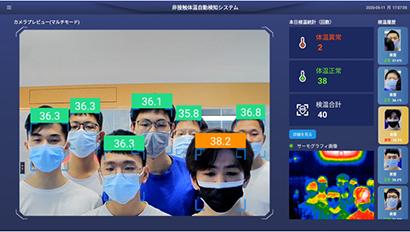 内田洋行ITS、「AI顔認証サーモグラフィーDC77」上市 コロナ対策に最適