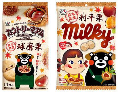 不二家、熊本県産原料使用ミルキーなど提案 売上げ一部を被災支援へ