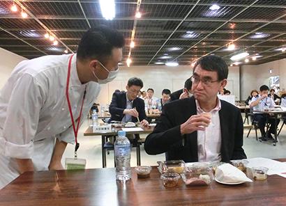 日本ジビエ振興協会、防衛省で試食会 自衛隊食にジビエを