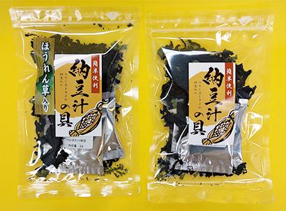 東北乾物・乾麺特集:瀬川勝雄商店 納豆汁の具も近々登場