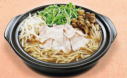 豆苗ともやしでつくるシャキシャキ野菜の煮込みラーメン