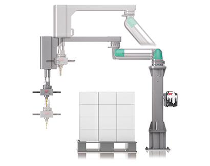 製品紹介:CKD 作業者の安全と使いやすさを追求「助力装置 PAW パレタイ…