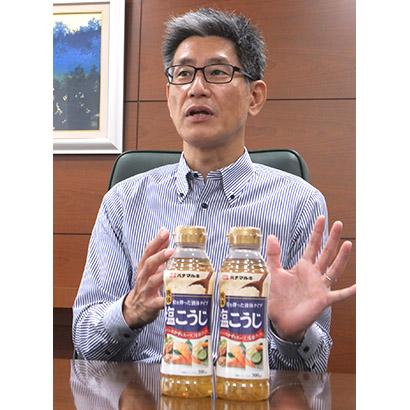 ハナマルキ・平田部長に聞く ストック型プロモーション 液体塩こうじ90秒CM…
